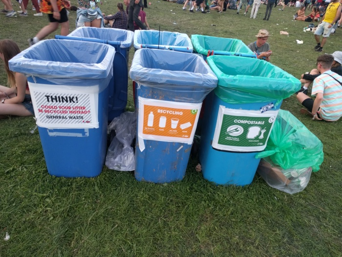 Bins at reading