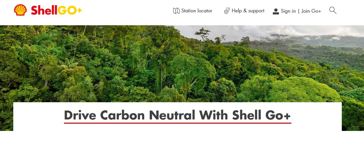 Drive carbon neutral